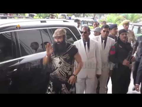 GRAND ENTRY: Saint Gurmeet Ram Rahim Singh...