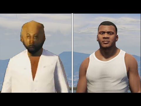 This is GTA 5 but on the lowest settings