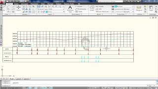 How To Draw Road Cross Section IN AutoCAD - X-Section of Road New Method