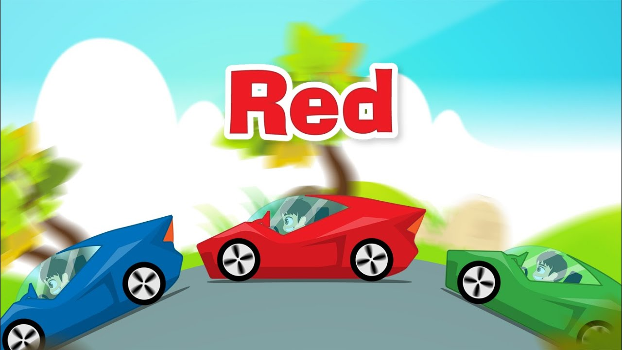 Learn Colors With Cars In English For Kids تعليم ألوان السيارات باللغة الإنجليزية للاطفال Youtube