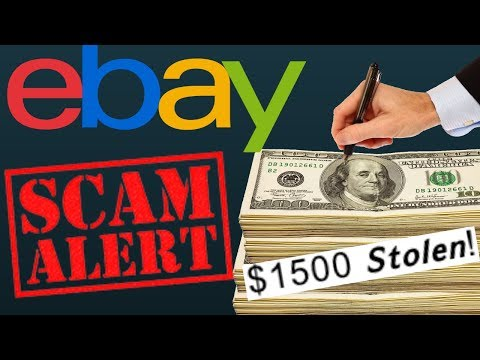 The Scariest Online Shopping Scam |  EBay Allows Scammer To Steal $1,500