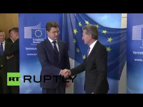 Germany: Russia, Ukraine and EU meet for gas talks in Berlin