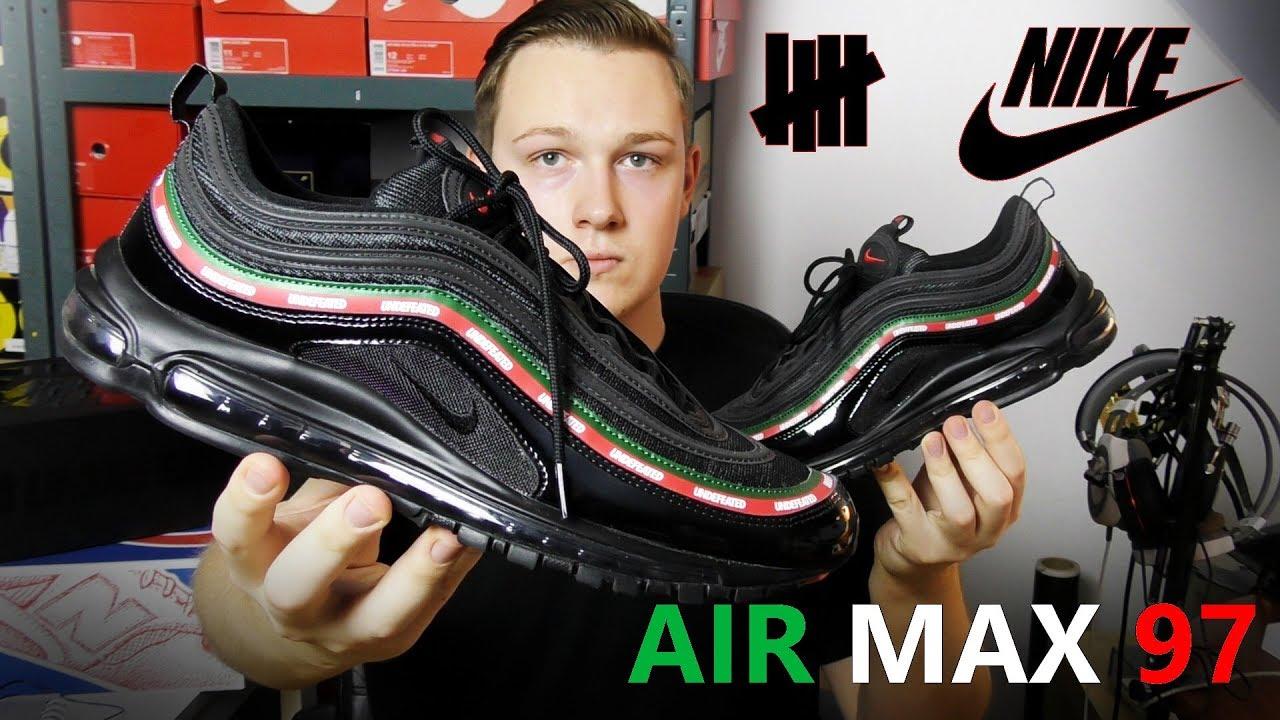 najlepszy wybór dla całej rodziny 2018 buty Nike Air Max 97 x UNDFTD aka GUCCI! Moja opinia i trochę o kolabo  UNDEFEATED x Nike!