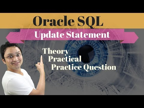 Tutorial#14 How To Update Rows Using Update Statement In Oracle SQL Database