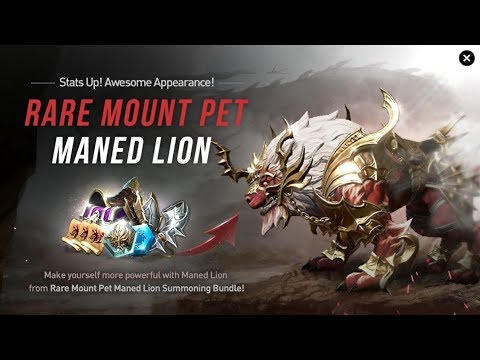 Lineage 2 Revolution Spend 10k Gems on New Rare Pet Part 1