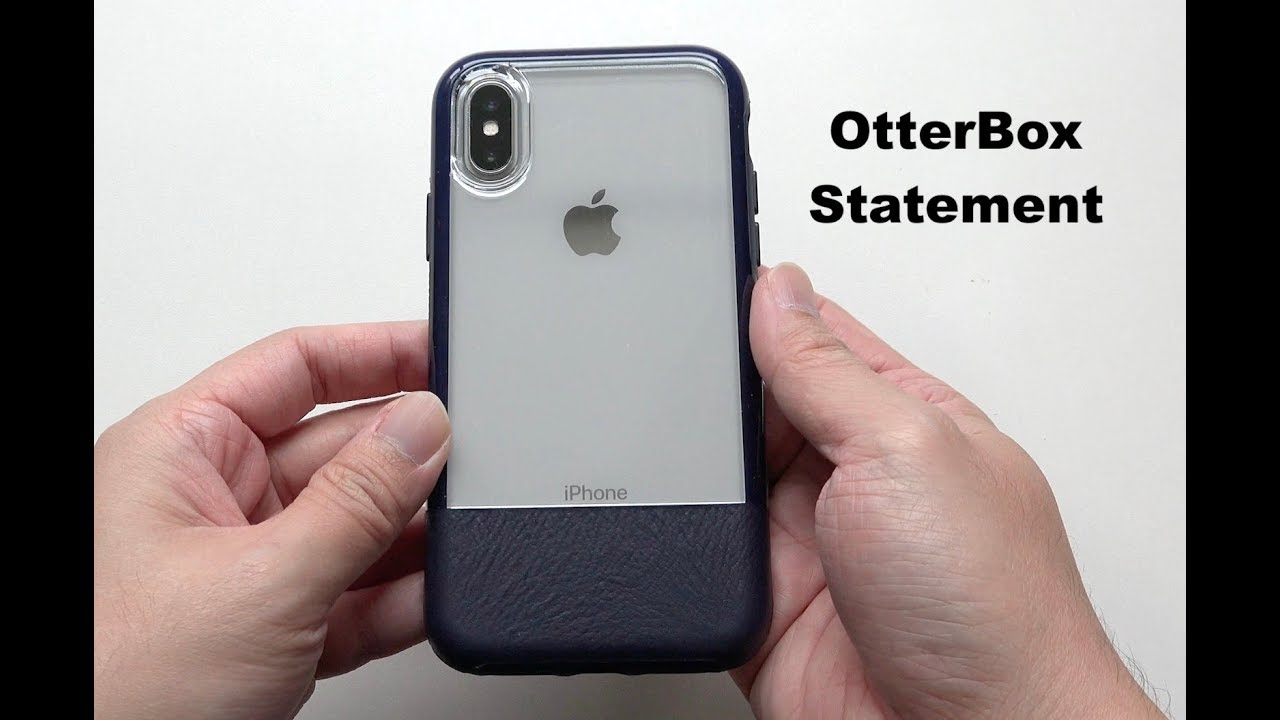 brand new 3b278 55c01 OtterBox Statement Series Case for iPhone X