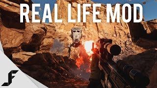 Star Wars Battlefront Real Life Mod - 4K 60FPS