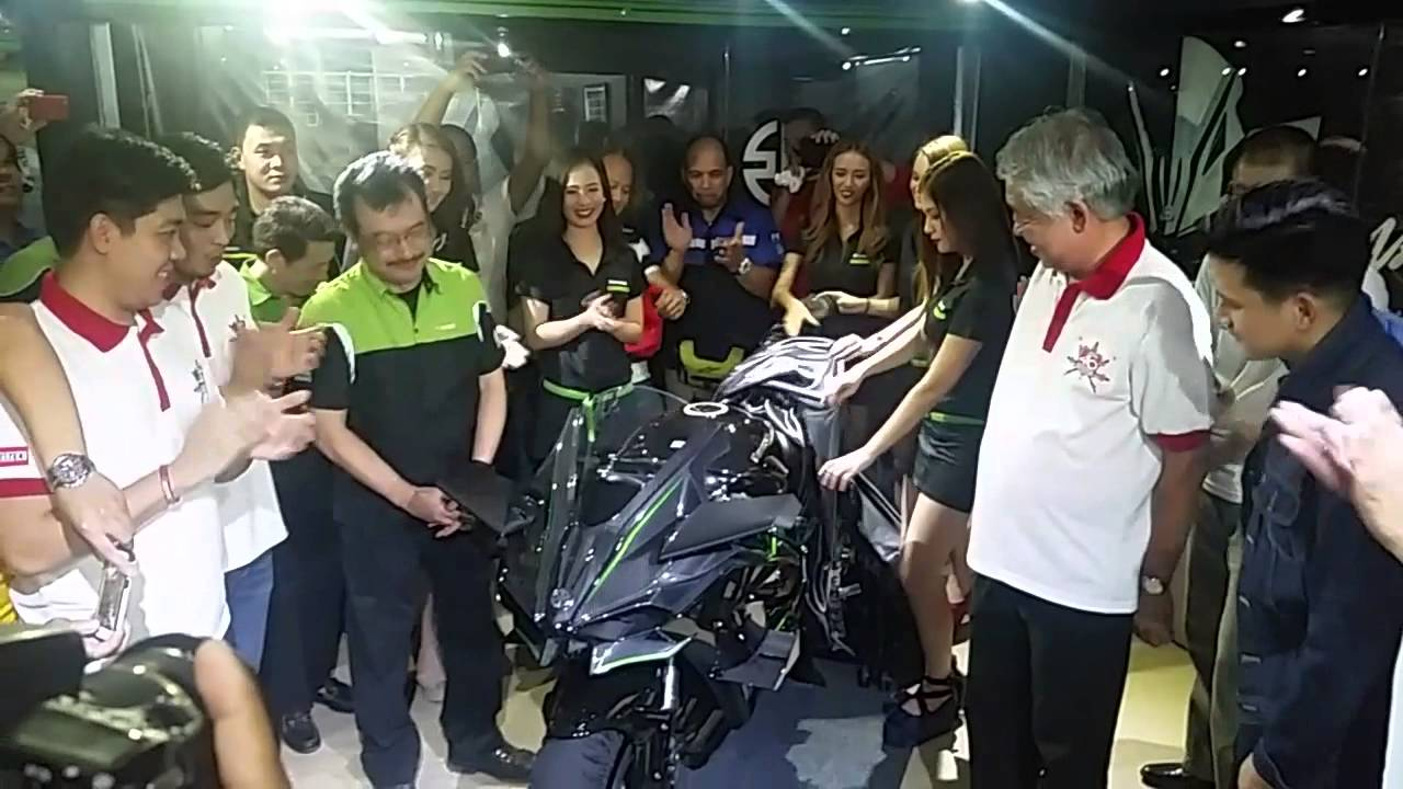 Inside Racing 2015 Kawasaki Ninja H2r Philippine Launch Youtube