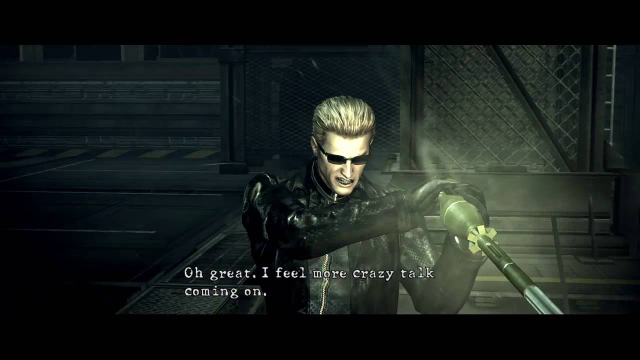 Resident Evil 5 Wesker Boss Fight Second Encounter Chris
