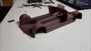 Постройка Модели Автомобиля Из Пластилина 2. Рама (2 Часть)