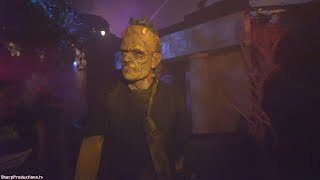 Frankenstein Meets the Wolf Man maze at Halloween Horror Nights Universal Studios Hollywood