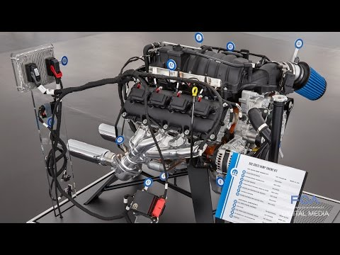 SEMA 2016: Mopar Crate HEMI Engine Kits