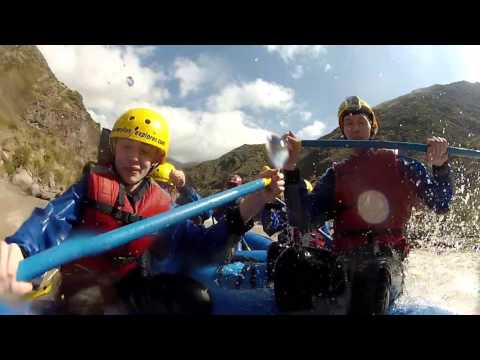Whitewater rafting in Mendoza Argentina