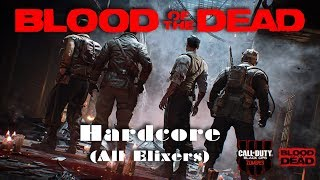Blood of the Dead - Rounds 60-100 - Hardcore Zombies - Call of Duty: Black Ops 4