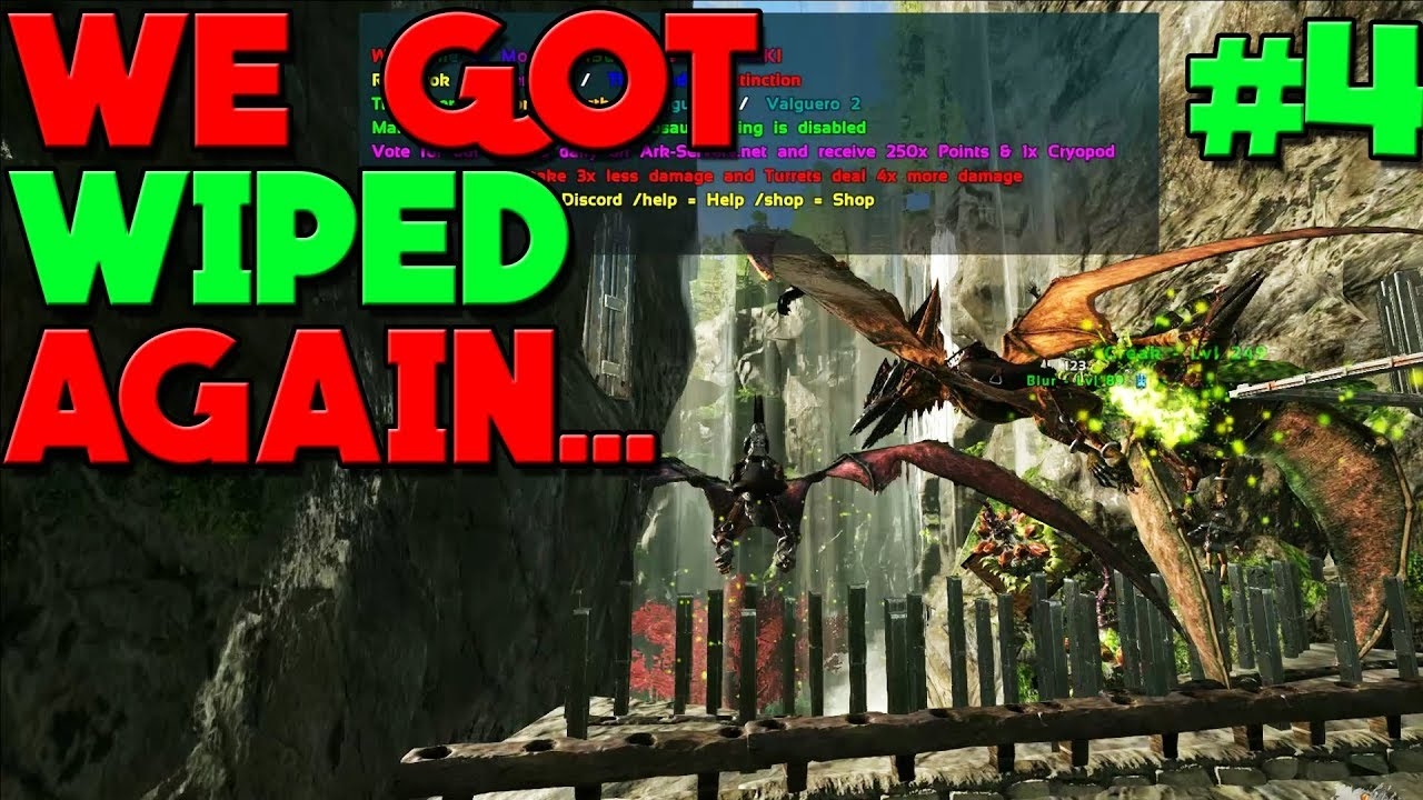 - FARMING EVERYTHING BACK! DAY 4 - NEW ARK VALGUERO MTS: 3 MAN SERVERS!