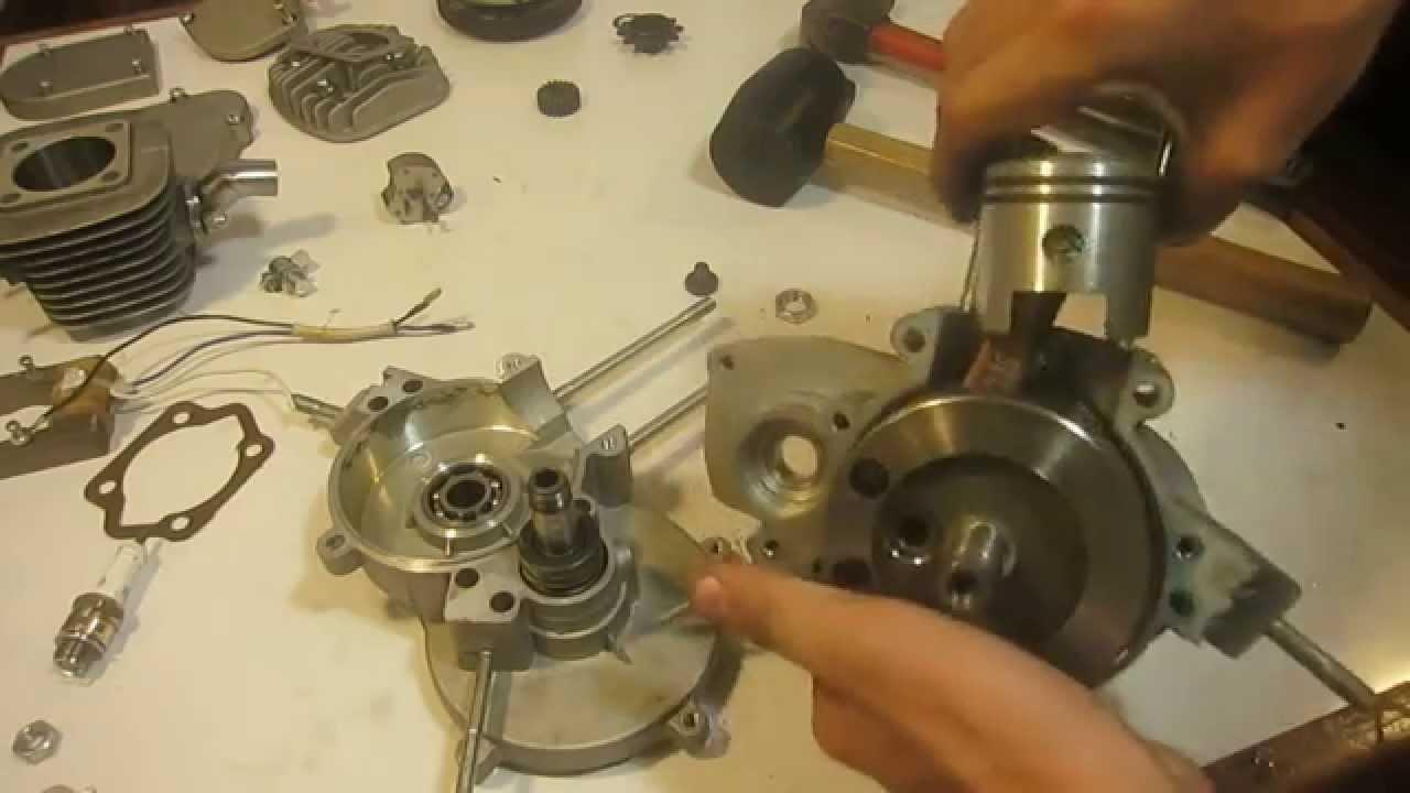Tutorial desarmado de motor 80cc 2t de bicimoto paso a for Cuba motors el paso
