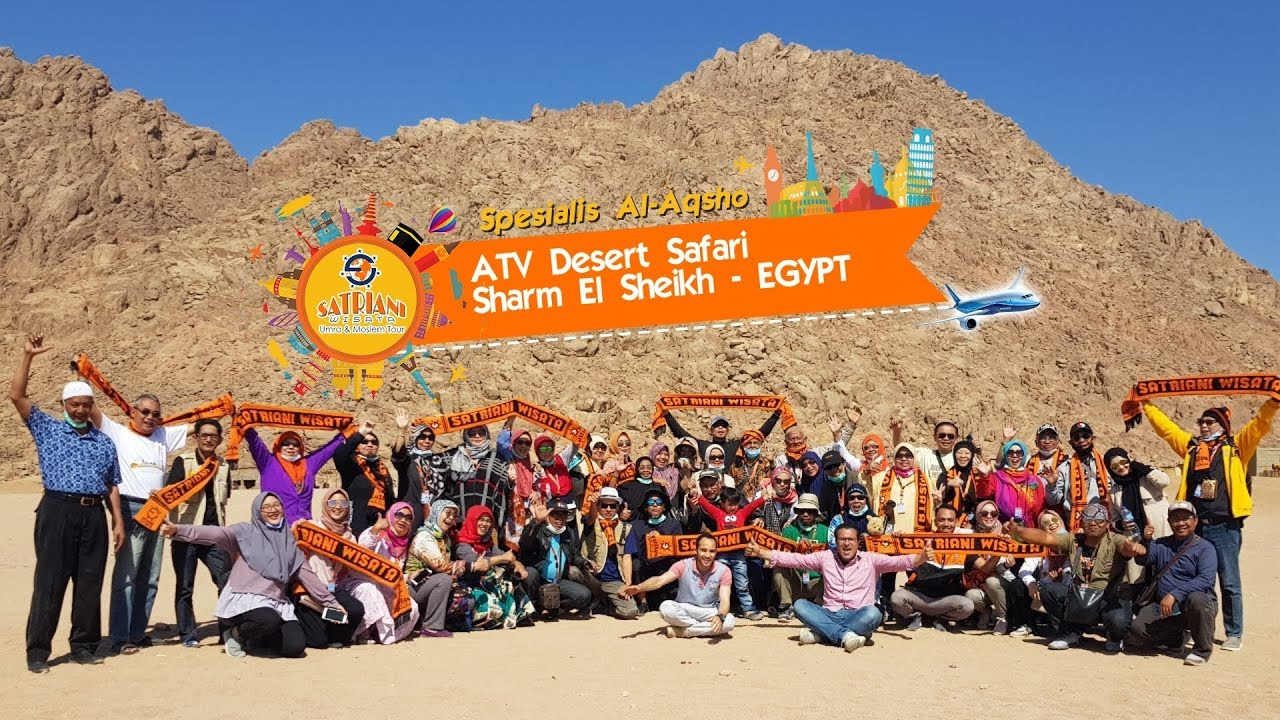 Atv Desert Safari Sharm El Sheikh Egypt Satriani Wisata