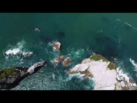South Island of New Zealand by drone
