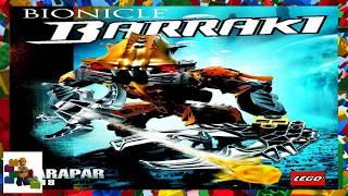 LEGO instructions - Bionicle - 8918 - Carapar