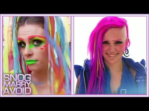 Cyber Punk's Electric Lifestyle   Beauty Transformations   Snog, Marry, Avoid?