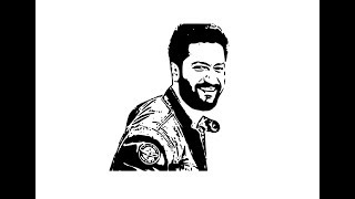 How to Draw Vicky Kaushal face pencil drawing step by step
