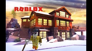Shoveling Snow In Roblox!