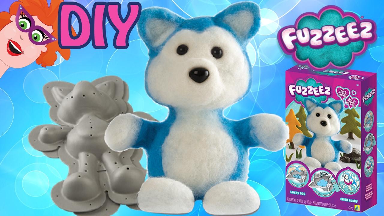 Fabulous Fuzzeez vos DIY - maak zelf je Fuzzeez knuffel met wol #XB82