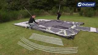 Outwell Vermont XLP Tent Pitching Video |  Innovative Family Camping