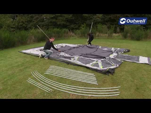 Outwell Vermont XLP Tent Pitching Video | Innovative Family C&ing & Outwell Vermont XLP Tent Pitching Video | Innovative Family ...