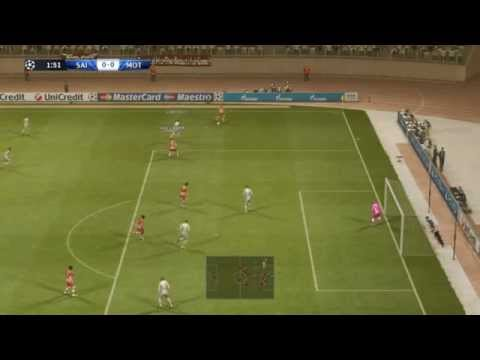 PES 2013 gameplay with Custom team vs Motherwell