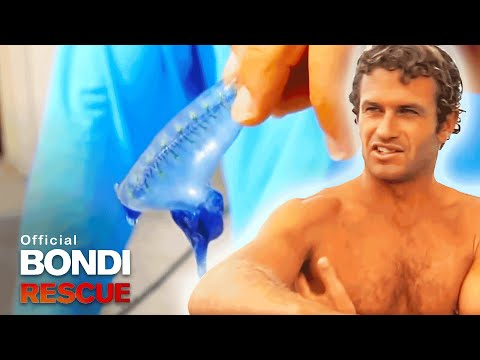 Corey The Bluebottle Experiment Subject! | Best Of Bondi Rescue