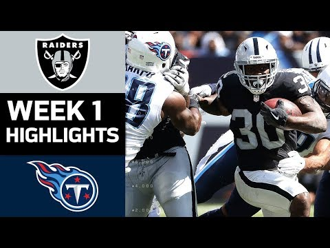 Raiders vs. Titans | NFL Week 1 Game Highlights