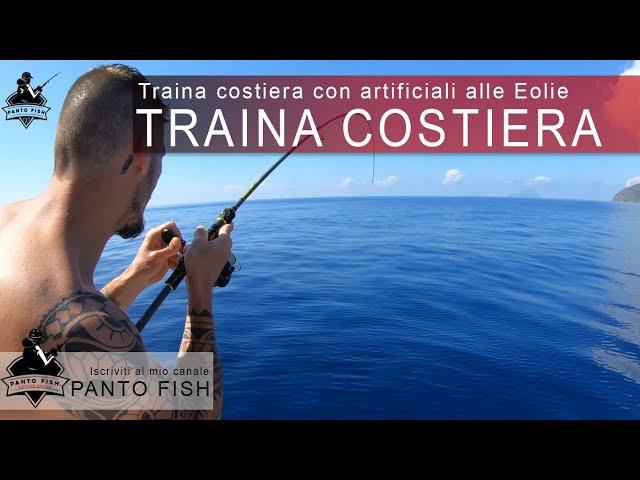 Traina costiera con artificiali alle Eolie