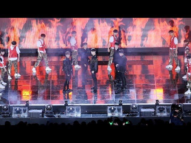 180901 TRCNG X BAP : ??? WARRIOR : ?? fancam : INK concert ?? ???????