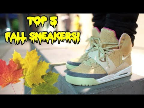 TOP 5 FALL SNEAKERS ON FEET!!! (2018)