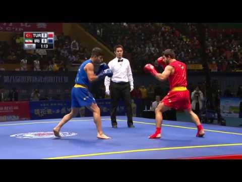 Sanda World Cup 2016 - Session 1 - Semi Finals - Chinese Commentary