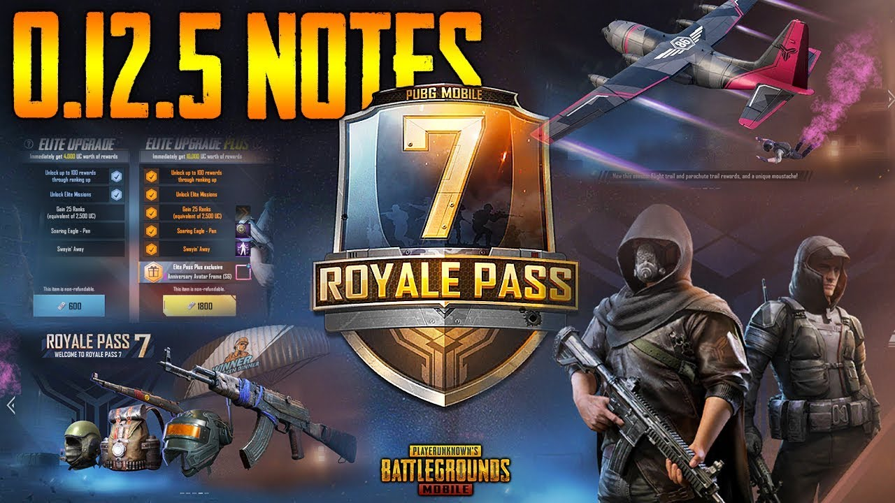 Pubg Mobile Season 7 0 12 5 Update Confirm Release Date Update