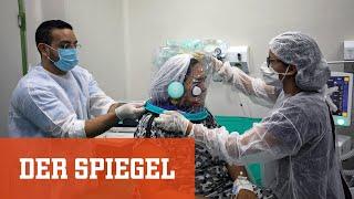 Pandemie in Brasilien: Was macht die Virusmutation P.1 so gefährlich?