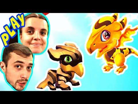 БолтушкА и ПРоХоДиМеЦ получили НОВЫХ Драконов! #350 Игра для Детей - Дракономания