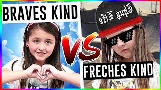 FRECHES Kind 😈 vs. BRAVES Kind 😇 Das frechste Kind der WELT!! - Geschichten und Spielzeug