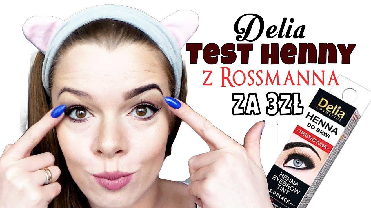 Test Henna Delia Z Rossmanna Za 3 Zł 047 Youtube