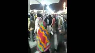 Saudi Police attacks Pilgrims in the Holy mosque (Madina) on 12th Rabi ul Awwal