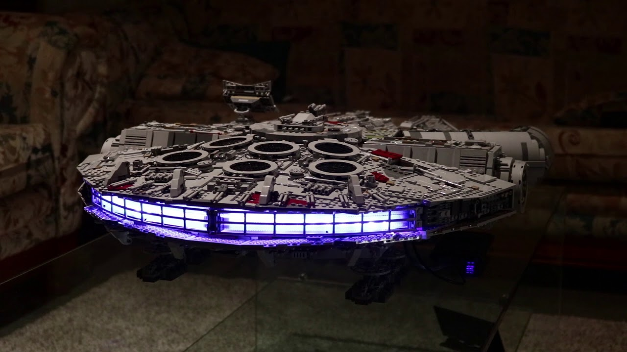 Lights & sound on UCS Millenium Falcon 75192
