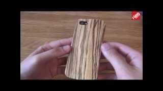 Чехол для iPhone 5 из дерева купить киев(Чехол для iPhone 5 из дерева Зебра Видеообзор защитного чехла для iPhone 5 из натурального дерева Зебра! Уникальн..., 2013-06-18T09:54:43.000Z)