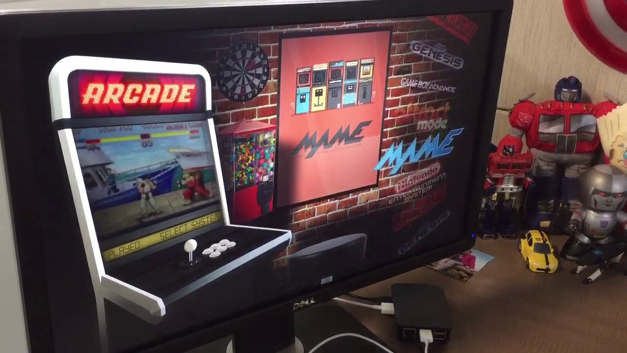 Attract Mode / RetroPie Arcade Project – Nevato Setup