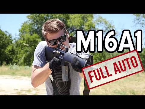 M16A1 Full Auto Fun