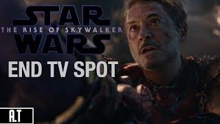 """Avengers: Endgame (Star Wars The Rise Of Skywalker """"End"""" TV Spot)"""