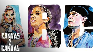 Introducing the ABCs of WWE: WWE Canvas 2 Canvas