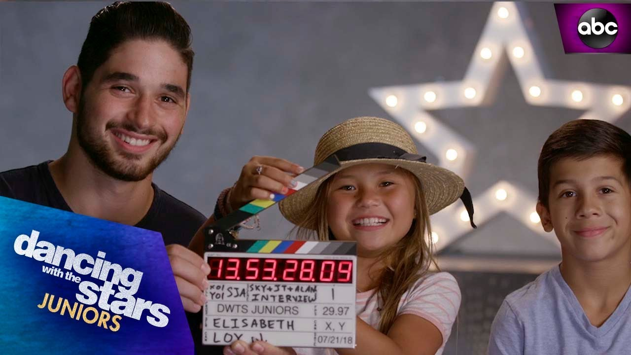Meet Sky Brown and JT Church - Dancing with the Stars: Juniors