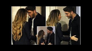 Furious Mike Thalassitis and Megan McKenna pictured having blazing row in the street after night ...